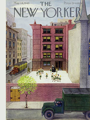 Painting - New Yorker May 14 1949 by Edna Eicke