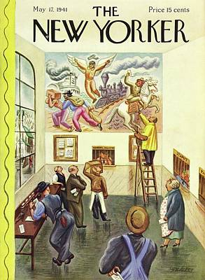 Painting - New Yorker May 17 1941 by Virginia Snedeker