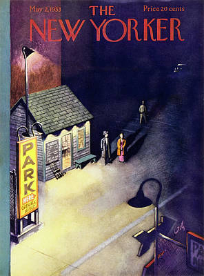 Painting - New Yorker May 2 1953 by Arthur Getz