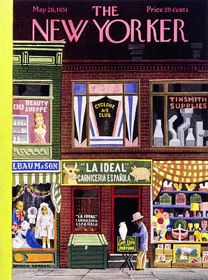 Painting - New Yorker May 26 1951 by Witold Gordon