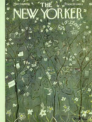 Painting - New Yorker May 30 1957 by Garrett Price