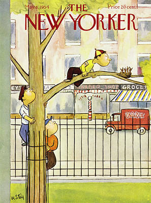 Painting - New Yorker May 8 1954 by William Steig