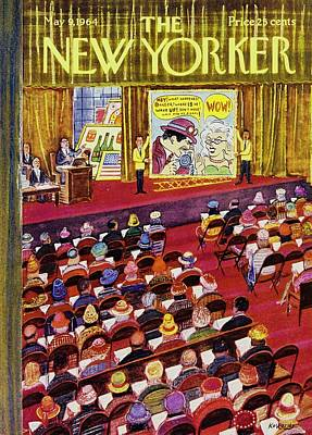 Drawing - New Yorker May 9 1964 by Anatole Kovarsky