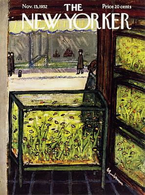 Painting - New Yorker November 15 1952 by Abe Birnbaum