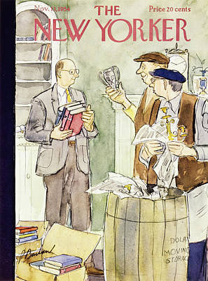 Painting - New Yorker November 15 1953 by Perry Barlow
