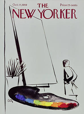 Painting - New Yorker October 17 1959 by Arthur Getz