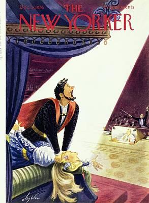 Painting - New Yorker October 25 1952 by Constantin Alajalov