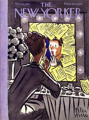 Painting - New Yorker October 25 1952 by Peter Arno