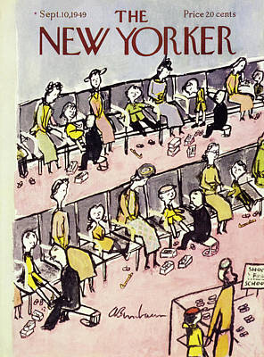 Painting - New Yorker September 10 1949 by Abe Birnbaum
