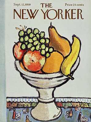 Abe Birnbaum Painting - New Yorker September 12 1959 by Abe Birnbaum