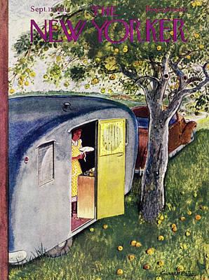 Painting - New Yorker September 15 1951 by Garrett Price