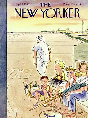 Painting - New Yorker September 2 1950 by Leonard Dove