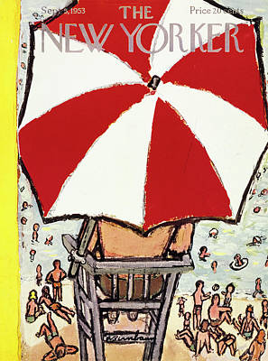 Painting - New Yorker September 5 1953 by Abe Birnbaum