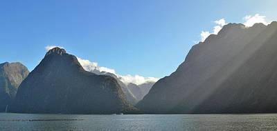 Photograph - New Zealand - Milford Sound 1 by Jeremy Hall