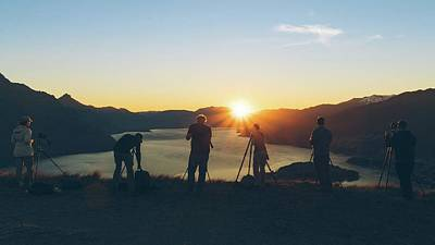 Photograph - New Zealand Sunset by Amber Kresge