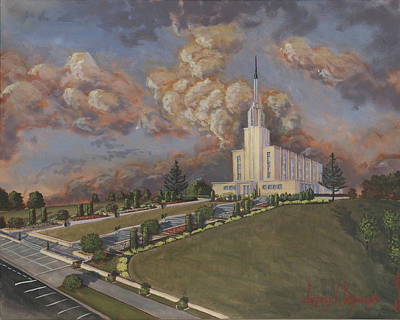 New Zealand Temple Art Print by Jeff Brimley