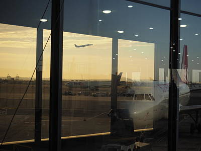 Photograph - Newark Airport by Daniel Corry
