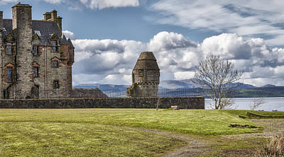Photograph - Newark Castle At Port Glasgow, Scotland by Jeremy Lavender Photography