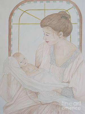 Newborn - Jacqueline Ruby Art Print
