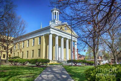 Photograph - Newburgh Courthouse On Grand Street 1 by Joe Santacroce