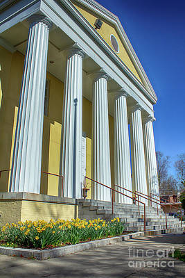 Photograph - Newburgh Courthouse On Grand Street 2 by Joe Santacroce