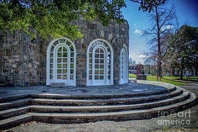 Photograph - Newburgh Downing Park Shelter House Side View by Joe Santacroce