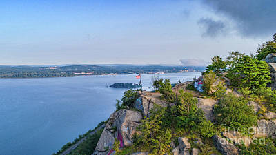 Photograph - Newburgh From Breakneck Ridge by Joe Santacroce