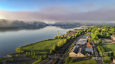 Photograph - Newburgh Waterfront Looking South 2 by Joe Santacroce