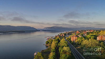 Photograph - Newburgh Waterfront Looking South by Joe Santacroce