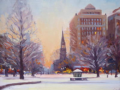 Painting - Newbury Twilight by Dianne Panarelli Miller