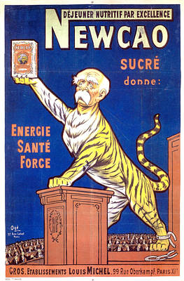 Royalty-Free and Rights-Managed Images - Newcao - Energy Health Strength - Vintage Advertising Poster by Studio Grafiikka