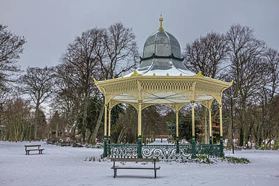 Photograph - Newcastle Exhibition Park Bandstand by David Pringle