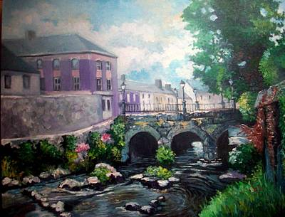 Painting - Newcastle West Co Limerick by Paul Weerasekera