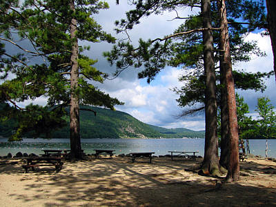 Nh Photograph - Newfound Lake In Nh by Janice Paige Chow