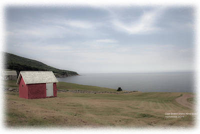 Photograph - Newfoundland Coast by Mark Alesse