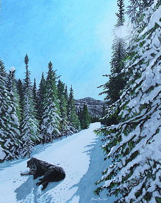 Painting - Newfoundland In Labrador II by Thom Barker