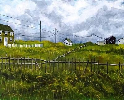 Painting - Newfoundland Jig by Diane Arlitt