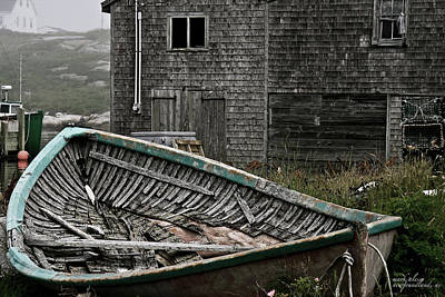 Photograph - Newfoundland Rowboat by Mark Alesse