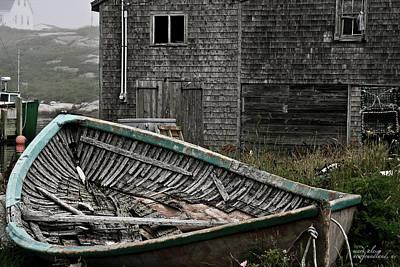 Photograph - Newfoundland Rowboat by Mark Alesse