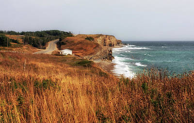 Photograph - Newfoundland West Coast  by Tatiana Travelways
