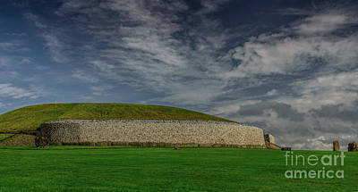 Photograph - Newgrange by Elvis Vaughn