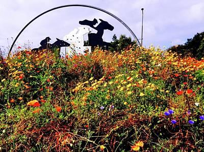 Photograph - Newhailes Roundabout by Nik Watt