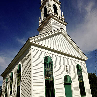 Photograph - Newington Church by Mark Alesse