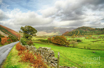 Photograph - Newlands Valley Floor Cumbria by Linsey Williams
