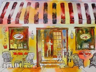 Painting - Newlins In Boca Grande by Tara Moorman