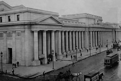Newly Built Pennsylvania Station Print by Everett