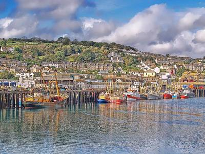 Newlyn Harbour Cornwall 2 Art Print