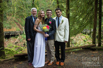 Photograph - Newlyweds And Dads by Patricia Babbitt