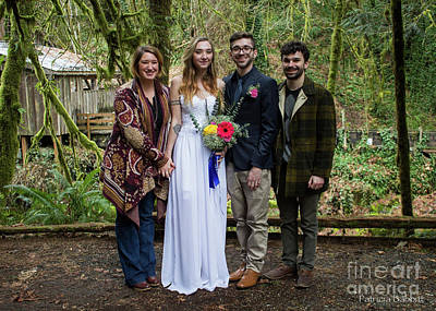 Photograph - Newlyweds And Family 2 by Patricia Babbitt
