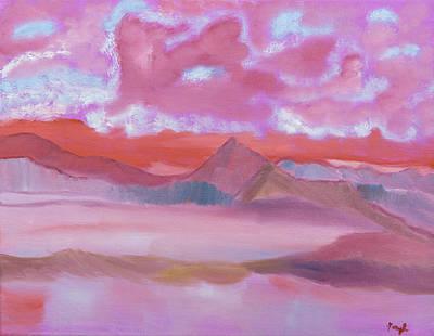 Painting - Longer Than by Meryl Goudey